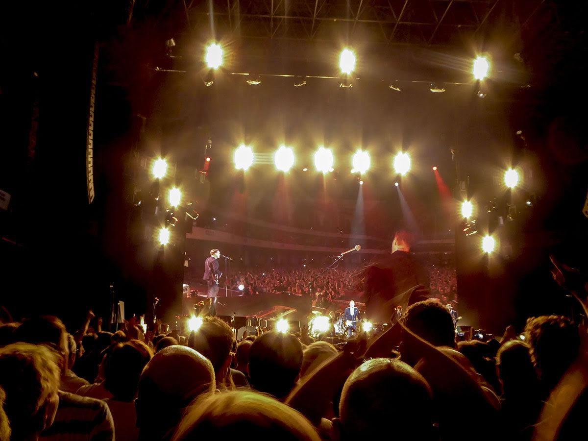 Bryan Adams performimg live at Festhalle, Frankfurt, Germany. june 3rd 2016
