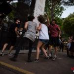 roma brucia: le foto