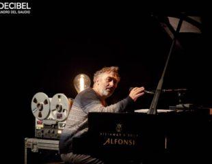 Yann Tiersen perform at Auditorium Conciliazione, Rome.