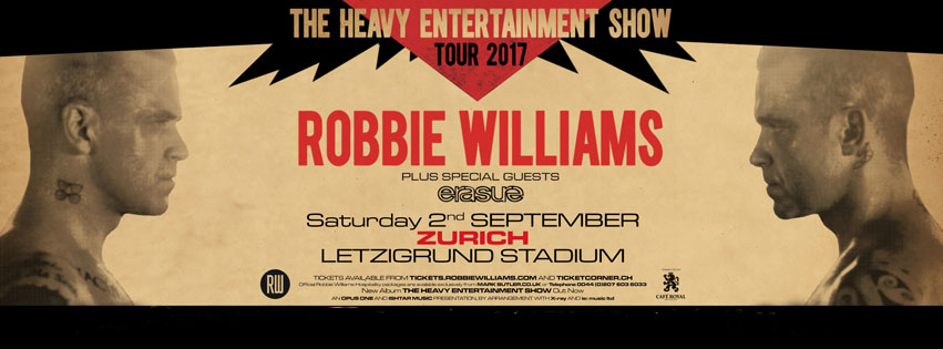 robbie williams zurigo